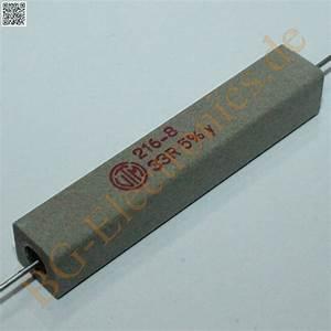 Drahtwiderstand Berechnen : 2 x 33 11w 33ohm widerstand resistor vitrohm 2pcs ebay ~ Themetempest.com Abrechnung