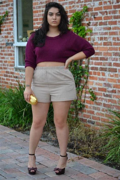ideas    wear high waisted shorts   size