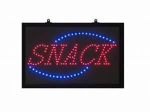 Tableau Lumineux Message : panneaux lumineux avec affichage du message snack ~ Teatrodelosmanantiales.com Idées de Décoration
