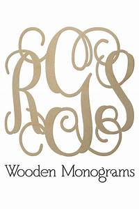 wooden monogram letters unfinished wood monograms With where to buy monogram letters