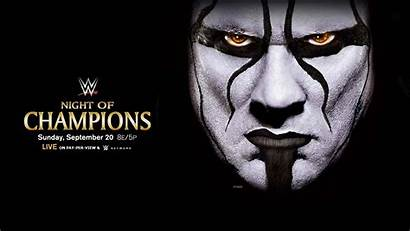 Wwe Wallpapers Desktop Sting Night Champions Cold