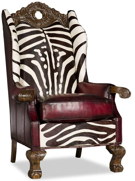 best home furnishings chairs wing back wing wingback throne chair zebra design