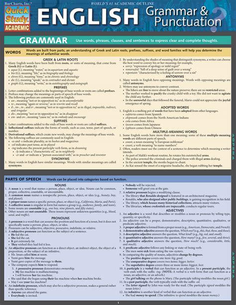 Classroom Notes  Study Aids Quickstudy