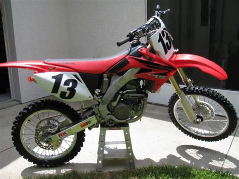 Buy 2007 Honda Crf 250r Dirt Bike On 2040motos