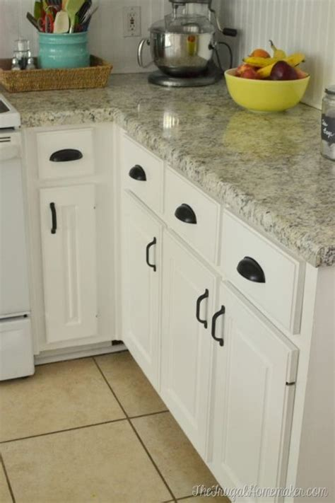 paint  yucky white cabinets kitchen