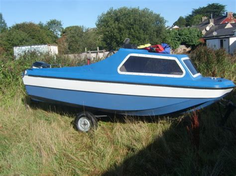 Seahawk Fishing Boat by Fishing Boat 17 Ft Seahawk With Engine And Trailer For