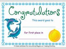 Reading Certificates For Home And Classroom