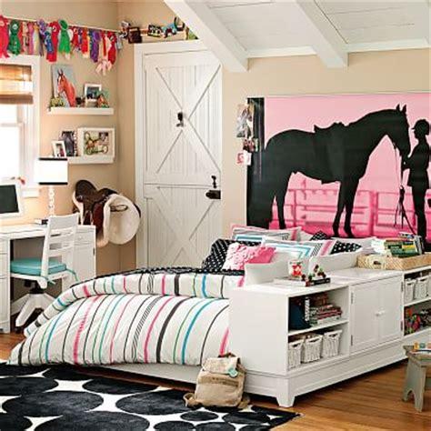 equestrian wall mural pbteen