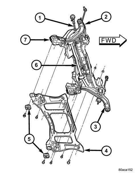 05 Caravan Sway Bar Diagram by Drivers Side Arm Noise Fix Dodgeforum
