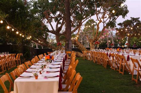 beautiful outdoor venues for weddings and receptions in irvine california