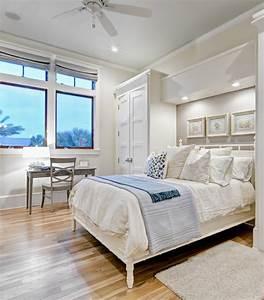 Grünpflanzen Im Schlafzimmer : 10 ideen f r einen luftigen strand look im schlafzimmer ~ Watch28wear.com Haus und Dekorationen