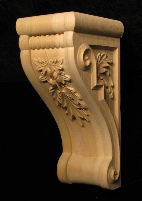 Oak Corbel by Corbel Oak Leaves Custom Corbels Brackets And Plinths