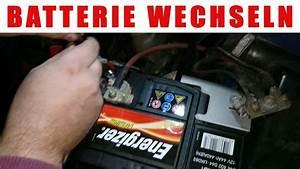 Autobatterie Wechseln Anleitung : wie autobatterie wechseln youtube ~ Watch28wear.com Haus und Dekorationen