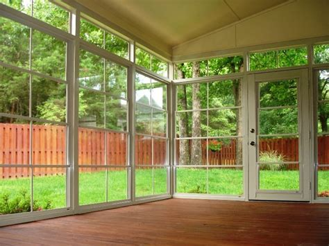 Sunroom Windows by Vinyl 4 Track Sunroom Systems Sunroom Addition Sunroom