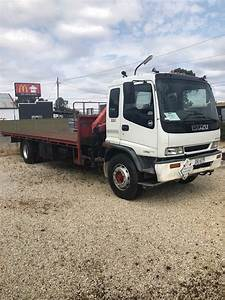 1997 Isuzu Fvr 900 Crane Truck - Jtmd5046404
