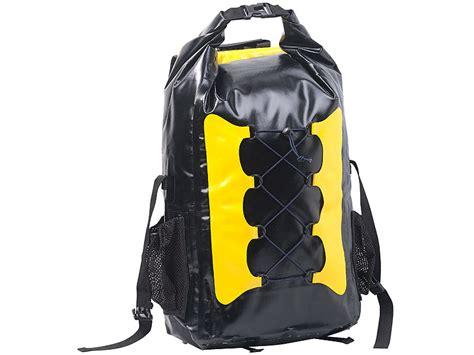 wasserdichter rucksack test semptec einkaufs rucksack wasserdichter trekking rucksack aus lkw plane 30 liter gelb schwarz