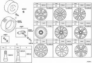 Lexus Is 250 Tire Diagram