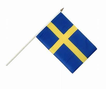 Flag Sweden Transparent Waving Swedish Flags Hand