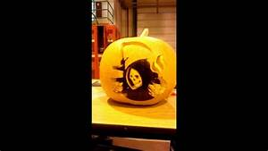 Sons of Anarchy pumpkin carving - YouTube