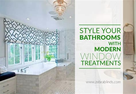 Bathroom Window Treatments Ideas by Top Bathroom Window Treatment Ideas Zebrablinds