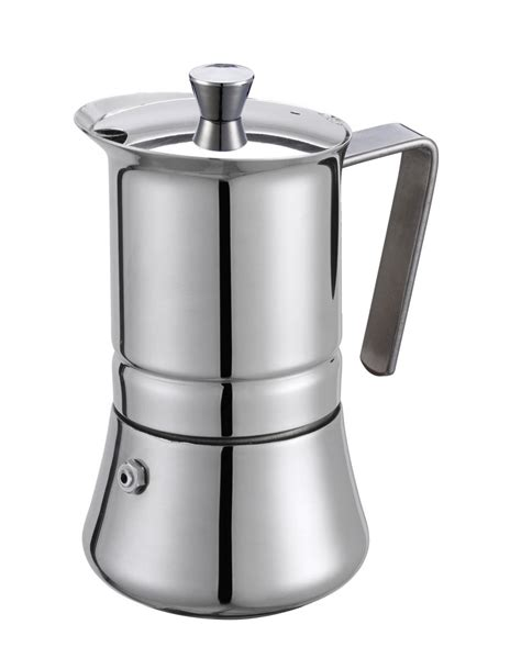 The milano stovetop espresso maker will make your espresso experience perfect every time. GAT PRATIKA Stovetop Espresso Coffee Maker STAINLESS STEEL ...