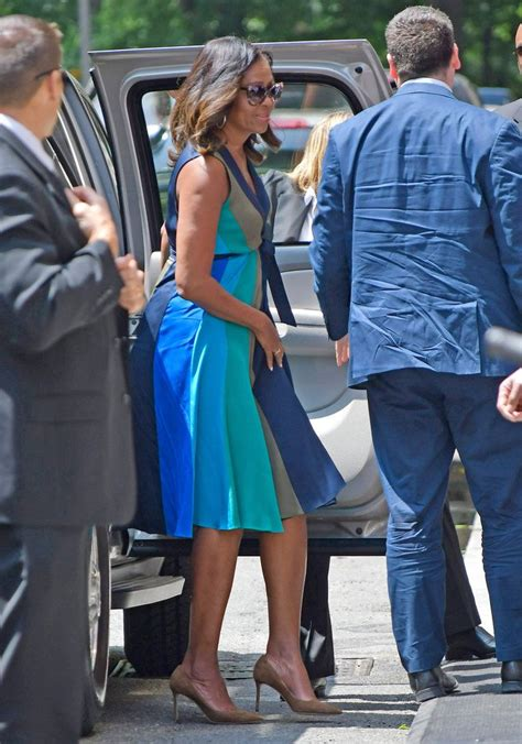 Michelle Obama Colorful Sundress Just What Your