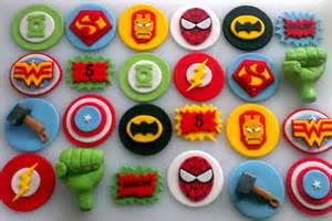personalized wedding cake topper justice league cupcake toppers by cheekycaker
