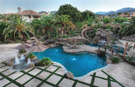 pool deko rock pool designs yorba custom features irvine