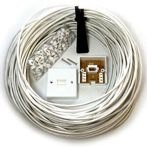 Wiring Telephone Extension Junction Box by Telephone Extension Kit Cables Adapters Ebay