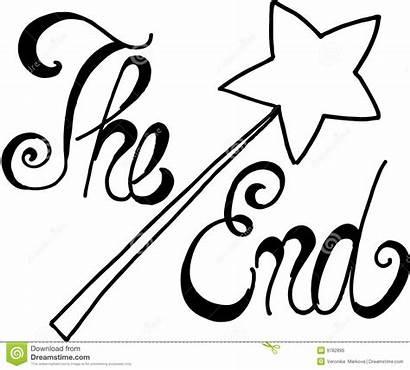 End Ende Eind Het Story Geschichte Wort