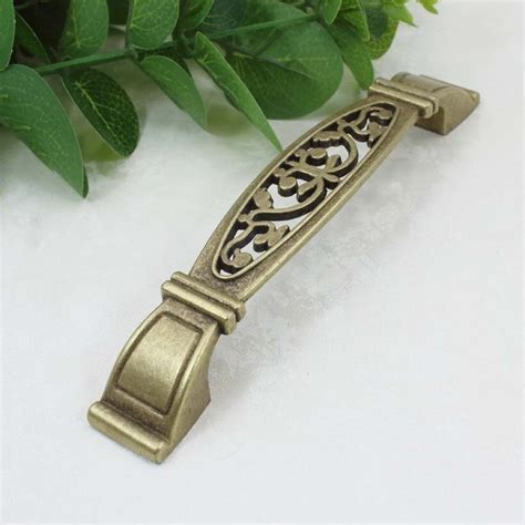 Antique Brass Cupboard And Pulls by 128mm Antique Brass Kitchen Cabinet Handle Pull Bronze