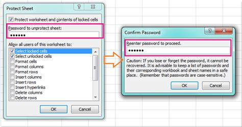 how to protect lock all but certain cells in excel worksheet