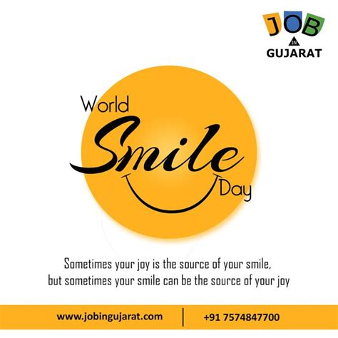 Happy World Smile Day 2019   World smile day, Smile face, Day