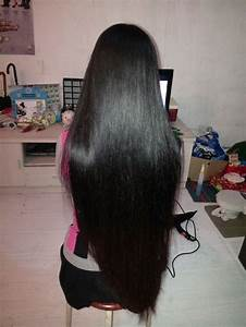 Ww Cut Silky Long Hair Before 2013 Spring Festival