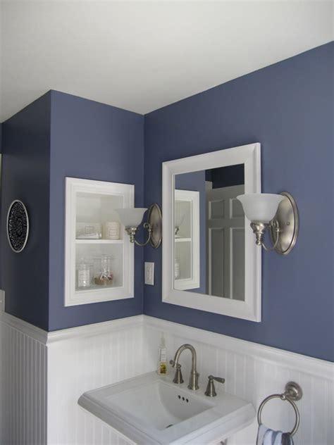 Painting Small Bathroom Walls  Home Combo