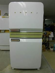 Vintage refrigerator -- 1956 Amana Stor-More -- never used!
