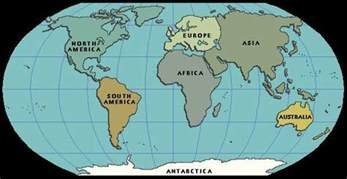 Image result for world map south america map