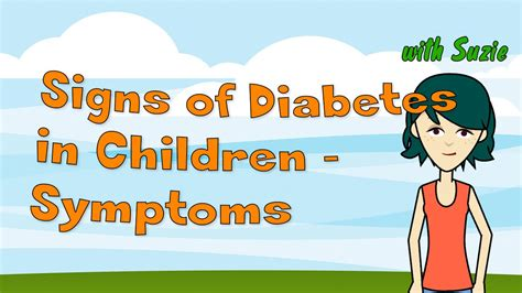 signs  diabetes  children symptoms  child diabetes