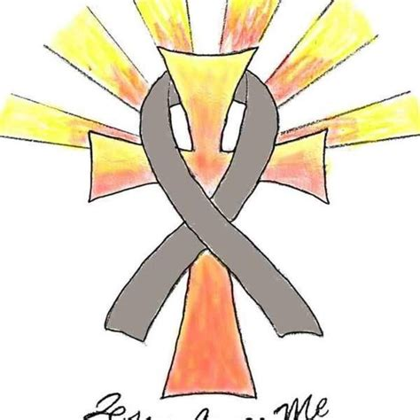 color for brain cancer best 25 brain cancer ribbon ideas on