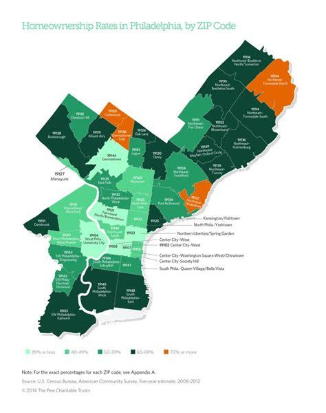 philadelphia zip code map my