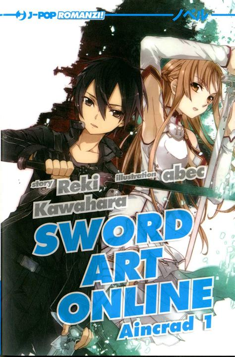 Jpop  Sword Art Online Novel 1, Light Novel , Aincrad 1