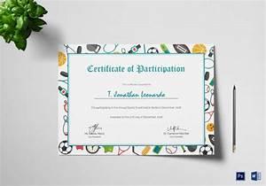 Sample Content Of Certificate Of Appreciation 19 Sample Participation Certificates Sample Templates