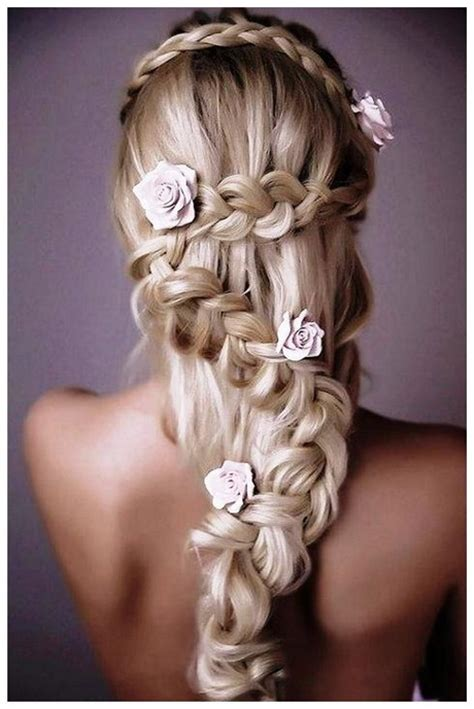 Wedding Hairstyles For Hair With Braids by Wedding Hairstyles For Hair With Flowers