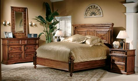 Bedroom Furniture From Exotic Wood #2571  Bedroom Ideas