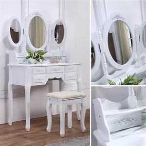 Coiffeuse 3 Miroirs : les 25 meilleures id es concernant coiffeuse blanche sur pinterest tables vanity d coration ~ Teatrodelosmanantiales.com Idées de Décoration