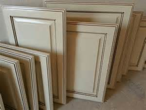 antique white glazed cabinet doors recent work great