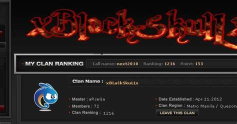 crossfire updates clan ranking in crossfire philippines