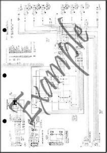 1989 Ford F800 Wiring 1989 ford truck cowl foldout wiring diagram f600 f700 f800