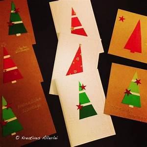 Weihnachtskarten Basteln Grundschule : tolle diy weihnachtskarten aus dem baumarkt advent ~ Orissabook.com Haus und Dekorationen
