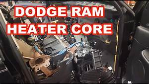 Dodge Ram Heater Core    Evaporator Replacement 2003  Overview 2500 3500 How